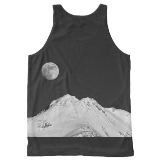 MOON OVER SHASTA All-Over-Print TANK TOP