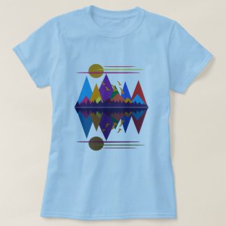 Moon Over The Mountains #9 T-Shirt