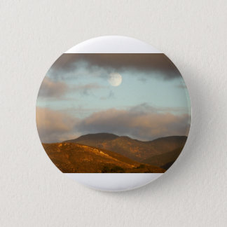 Moon over Vineyards 2 Inch Round Button