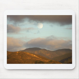 Moon over Vineyards Mouse Pad
