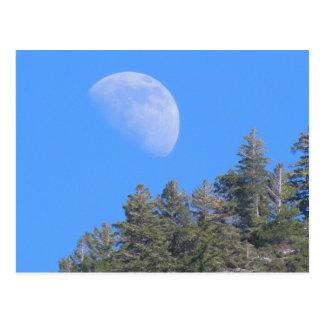 Moon Over Yosemite 2011 Postcard