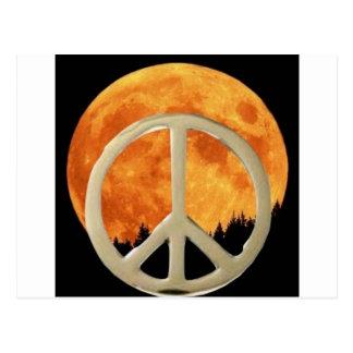 MOON PEACE POSTCARDS