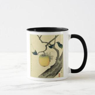 Moon, Persimmon and Grasshopper, 1807 Mug