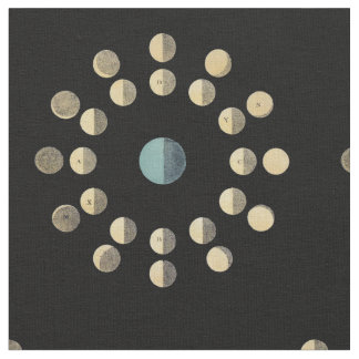 Moon Phases Fabric