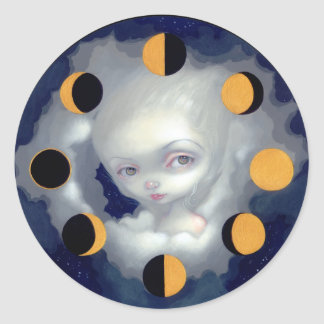 """""""Moon Phases"""" Sticker"""