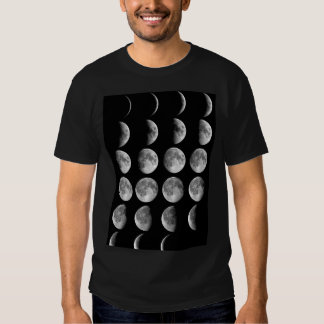 Moon Phases T-shirts