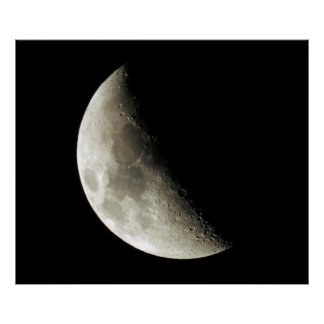 Moon Photography Poster