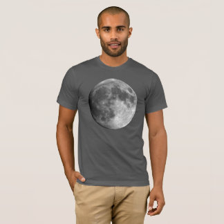 Moon Planet Men's Basic American Apparel T-Shirt