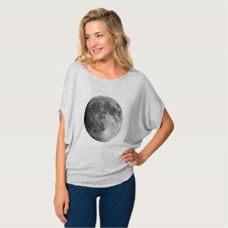 Moon Planet Women's Bella+Canvas Flowy Circle Top