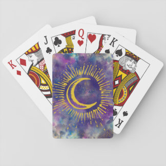 """Moon"" Playing Cards (Gold-Etc)"