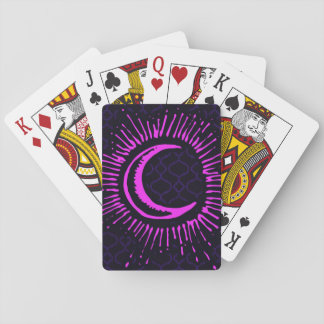 """Moon"" Playing Cards (PK/BLK/PUR)"