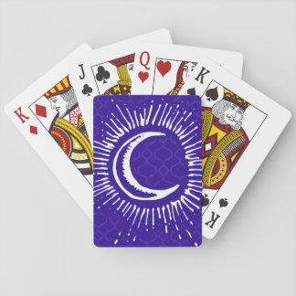 """Moon"" Playing Cards (WH/BLU/PUR)"