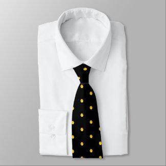 Moon Polka Dots Halloween Tie