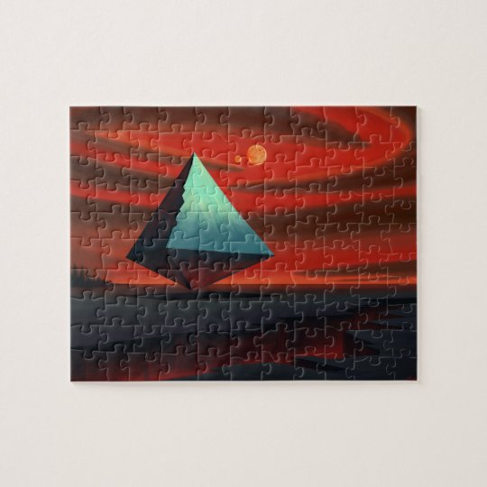 Moon Pyramid Jigsaw Puzzle