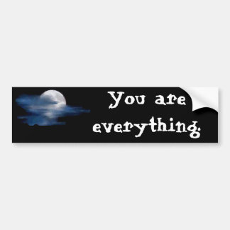 Moon Quote (Wizard People) Bumper Stickers