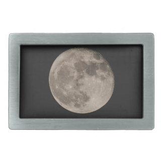 Moon Rectangular Belt Buckles