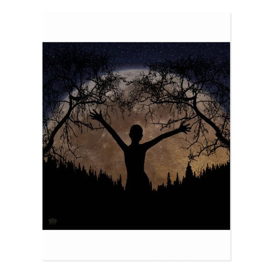 Moon Rising Postcard