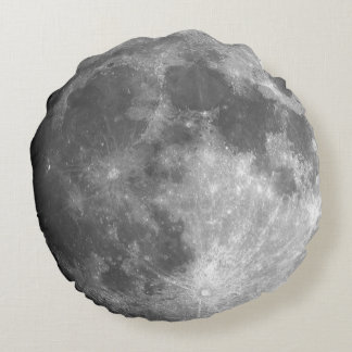Moon Round Pillow