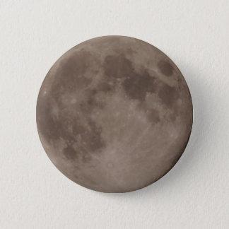 Moon satellite lunar moonlight 2 inch round button