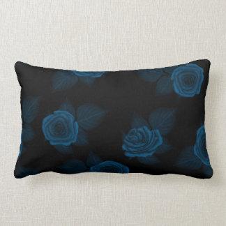 Moon Shadow Roses Lumbar Pillow
