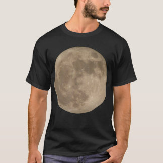 Moon Shirt Full Moon T-shirt Cool  Moon Gifts