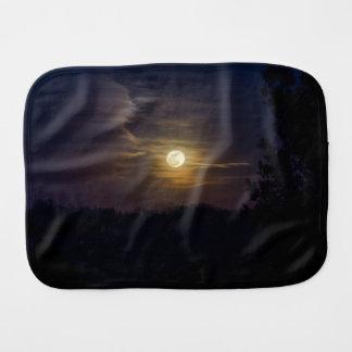 Moon Silhouette Burp Cloth