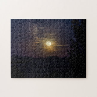 Moon Silhouette Jigsaw Puzzle