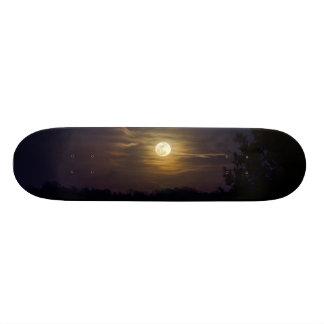 Moon Silhouette Skateboard