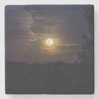 Moon Silhouette Stone Coaster
