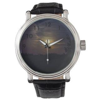 Moon Silhouette Watch