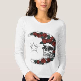 moon-skull-roses shirt