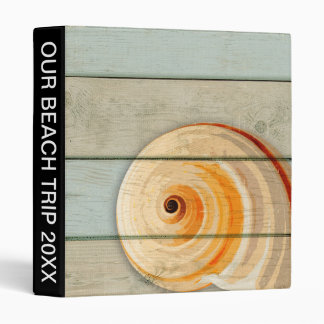 Moon Snail 3 Ring Binder