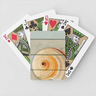 Moon Snail Bicycle Playing Cards