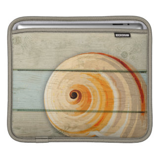 Moon Snail iPad Sleeve