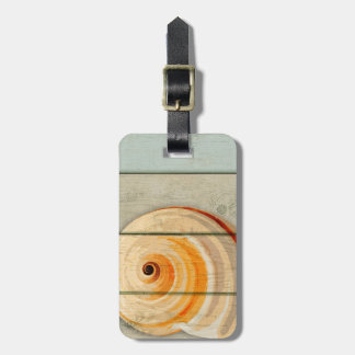 Moon Snail Luggage Tag