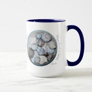 Moon Snail & Whelks Large Coffee Mug