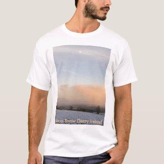 Moon Snow, Moon Snow Derry Ireland T-Shirt
