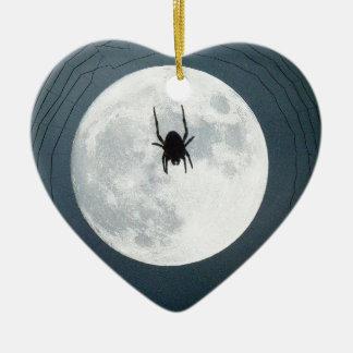 Moon spider ceramic ornament