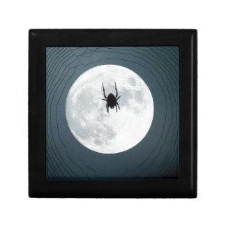 Moon spider keepsake boxes