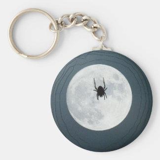Moon spider keychain