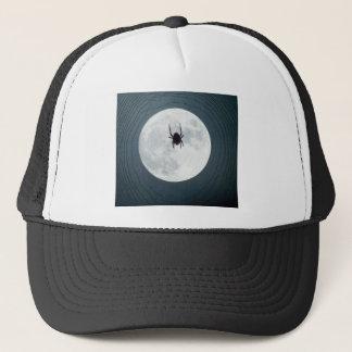 Moon spider trucker hat