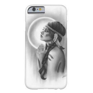 Moon Spirit Native Braid Feather Girl Phone Case
