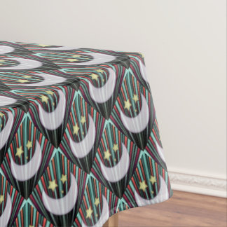 Moon, Stars, & Rising Sun Tablecloth