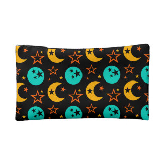 Moon Stars Starry Sky Galaxy Astrology Wiccan Cosmetic Bag