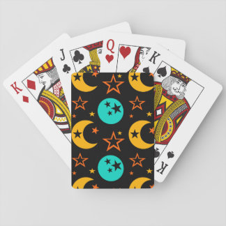 Moon Stars Starry Sky Galaxy Astrology Wiccan Playing Cards