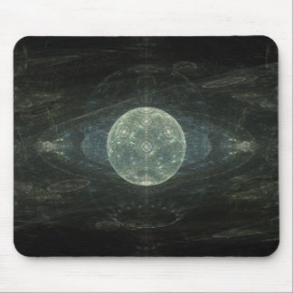"""Moon Station"" Fractal Art Mouse Pad"