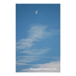 Moon Stationery