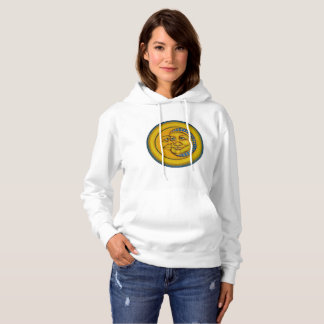 Moon & Sun in Love by Julie Ann Stricklin Hoodie