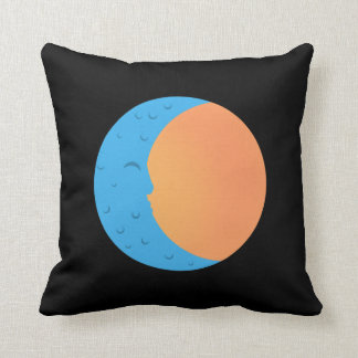 Moon & Sun PopArtCulture Throw Pillow