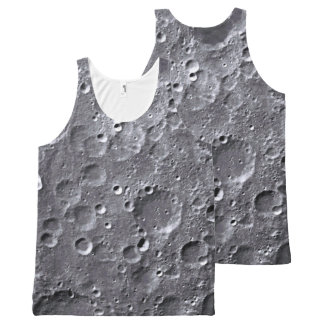 Moon surface All-Over-Print tank top